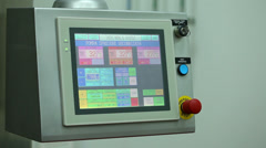 control panel - stock footage