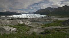 Matanuska Glacier in Alaskas Chugach Range - Static Stock Footage