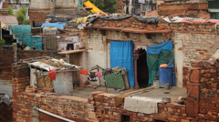 Poverty House Stock Footage