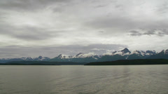 Mountains of the Southeast Alaska Inside Passage Seen From Ferry on Stock Footage