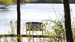 On Golden Pond Stock Footage