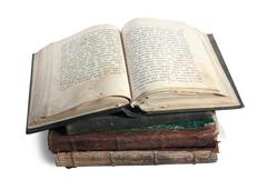 Stock Photo of book of 18st century