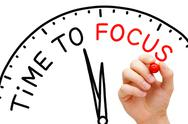 Stock Illustration of time to focus