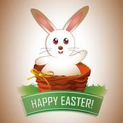 Easter eggs background designs Stock Illustration