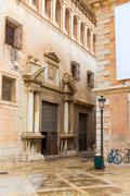 Valencia patriarca museum in calle nave street spain Stock Photos