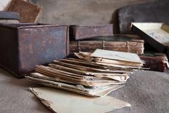 Stock Photo of vintage correspondence