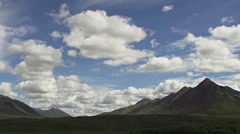 Valley of the Clouds Mountain Timelapse Yukon Canada Stock Footage