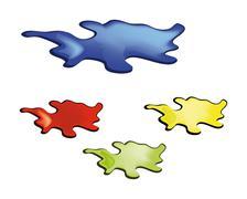 Stock Illustration of blots