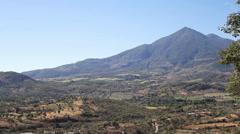 Vast Landscape Pan in El Salvador (Slow) Stock Footage