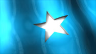 Stock Video Footage of 3D flag, Somalia