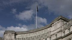 Admiralty Arch, Trafalgar Square 4K Stock Footage