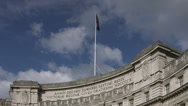 Stock Video Footage of Admiralty Arch, Trafalgar Square 4K