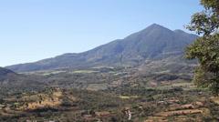 Vast Landscape Pan in El Salvador (Fast) Stock Footage