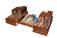 Tube amplifier Stock Photos