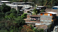 Calm El Salvador Neighbourhood Stock Footage