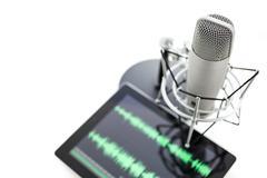 podcasting - stock photo