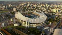 Rio Olympic Stadium, Rio de Janeiro, Brazil Stock Footage