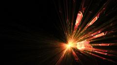 Explosion, burst of light Stock Footage