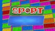 Stock Video Footage of TV sports program 2