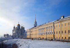 Assumption cathedral in Vladimir - stock photo