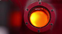 incinerator fire - stock footage