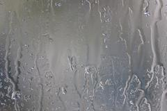 Raindrop on window Stock Photos