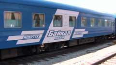 Baikal-Amur Mainline - stock footage