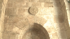 Ancient walls of Jerusalem Stock Footage