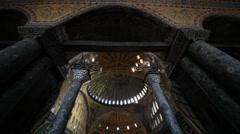 Hagia Sophia Museum, Ayasofya Istanbul - stock footage
