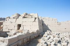 Ruins of Karnak Temple Stock Photos