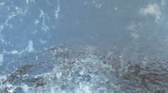 Ice Cracking, Splittering And Falling Down Stock Footage
