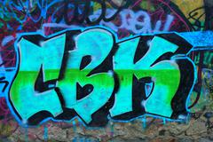 Abstract graffity Stock Photos