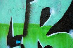 element of graffiti - stock photo