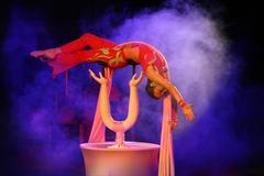 Circus Acrobat Stock Photos