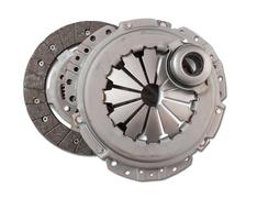 Automotive part. automobile engine clutch Stock Photos