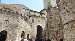 4K San Gimignano - Tuscany, Italy Stock Footage