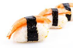 sushi crab stick - stock photo