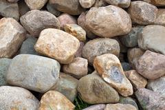 stack of rocks - stock photo