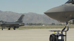 Luke Air Force Base First F-35 - stock footage