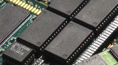 Ram, Memory, Circuits, Computers Stock Footage