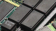 Stock Video Footage of Ram, Memory, Circuits, Computers