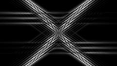 Abstract motion background, loop, black and white Stock Footage