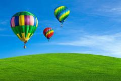 Hot air balloons Kuvituskuvat
