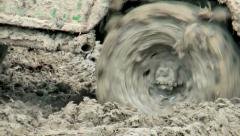 Mud adventure race Stock Footage