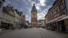 Speyer - Hyperlapse/Timelapse Stock Footage