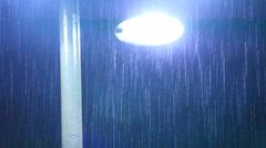 Rain. - stock footage