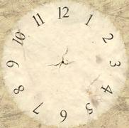Antique watch face backing Piirros