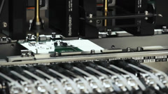 Industrial Machine In Action - stock footage