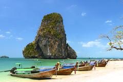 Kho poda in krabi thailand Stock Photos