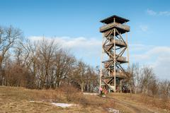 Outlook Tower - stock photo